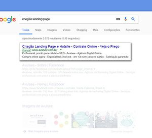 Gestão Campanha de Pesquisa Google Adwords