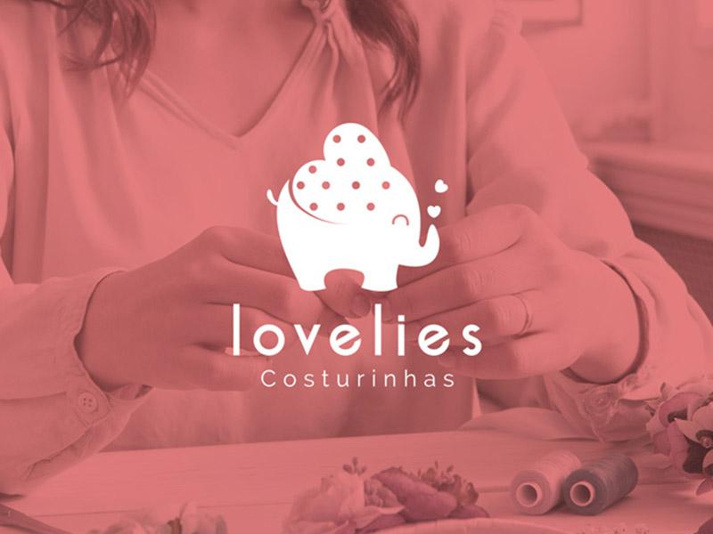 Criação de marca Lovelies