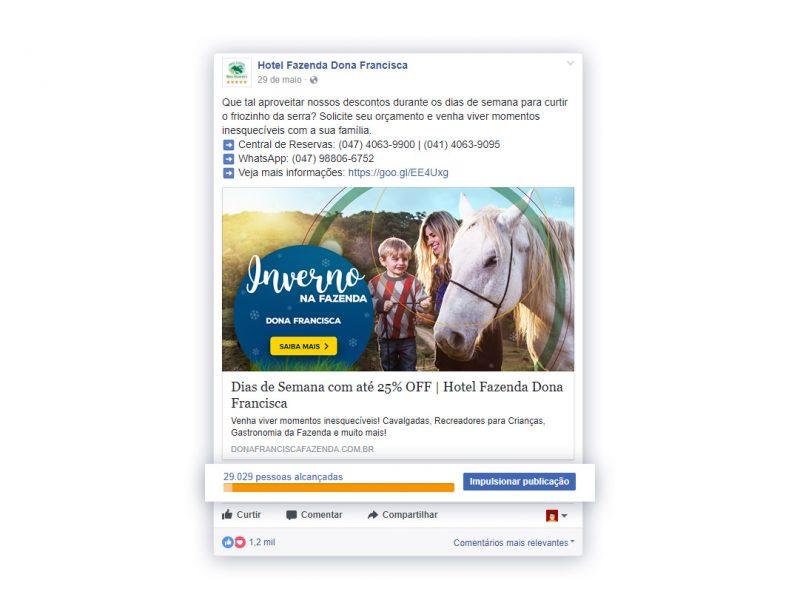Campanha completa Facebook - Dona Francisca