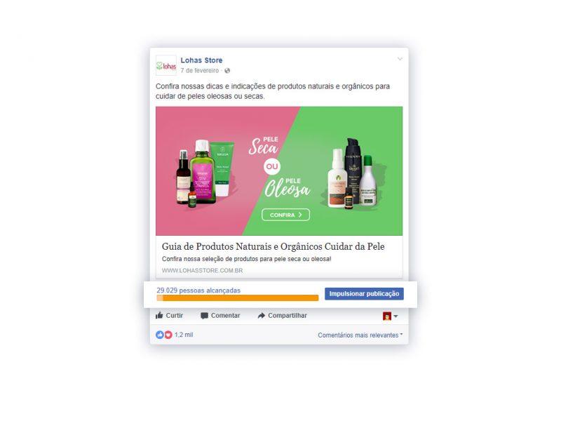 Campanha completa Facebook - Lohas