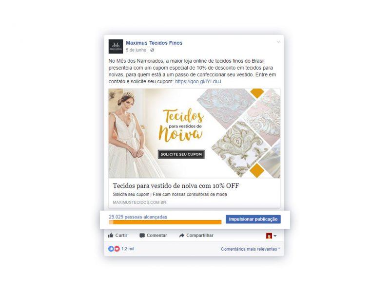 Campanha completa Facebook - Maximus
