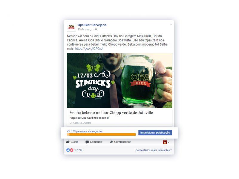 Campanha completa Facebook - Opa Bier