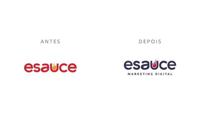 Reconstrução marca eSauce