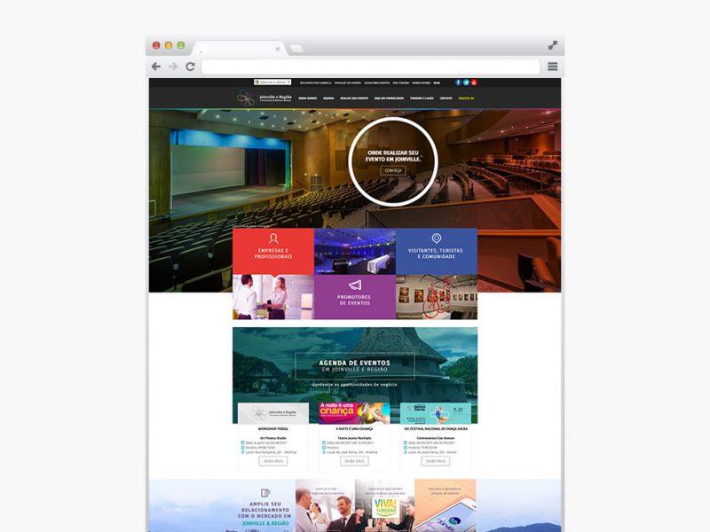 Eventos em Joinville - Criação de Site Profissional - Pronto para Celular (responsivo) e SEO