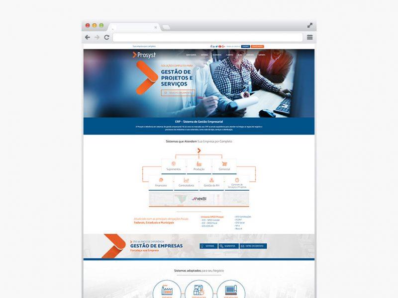 Prosyst - Criação de Site Profissional - Pronto para Celular (responsivo) e SEO