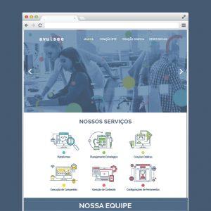 Criação de site One Page