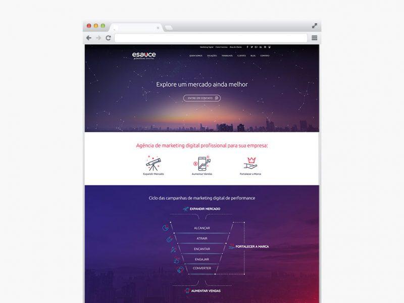 eSauce - Criação de Site Profissional - Pronto para Celular (responsivo) e SEO